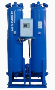 WHK  Heat free regenerative adsorption compressed air dryer flow 0.8M3/min 至 300M3/min
