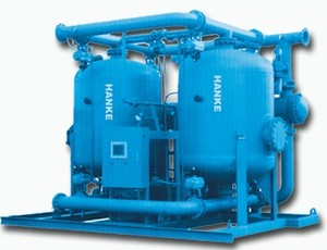 YHK  Waste heat regenerative adsorption dryer flow 15M3/min 至 300M3/min